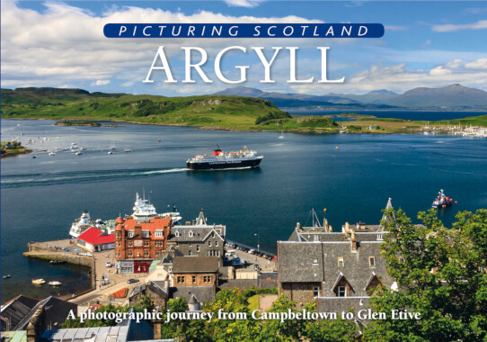 Jacket of Picturing Scotland: Argyll
