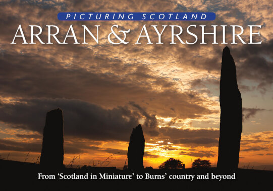 Jacket of Picturing Scotland: Arran & Ayrshire
