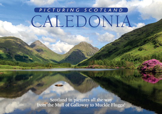 Jacket of Picturing Scotland: Caledonia