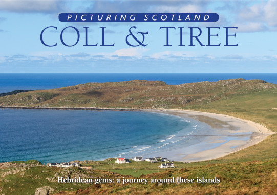 Jacket of Picturing Scotland: Coll & Tiree