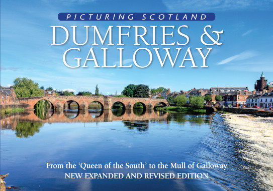 Jacket of Picturing Scotland: Dumfries & Galloway (2nd edition, Expanded and Revised)