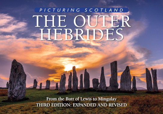 Jacket of Picturing Scotland: The Outer Hebrides (3rd edition, Expanded and Revised)