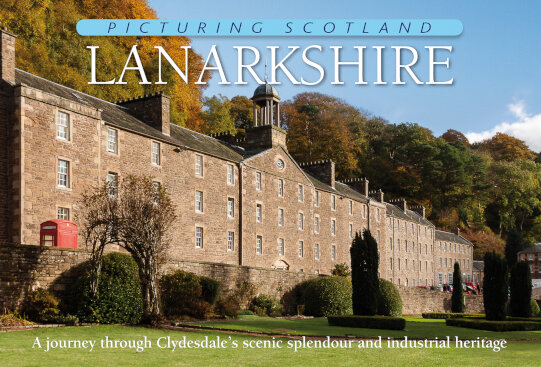 Jacket of Picturing Scotland: Lanarkshire