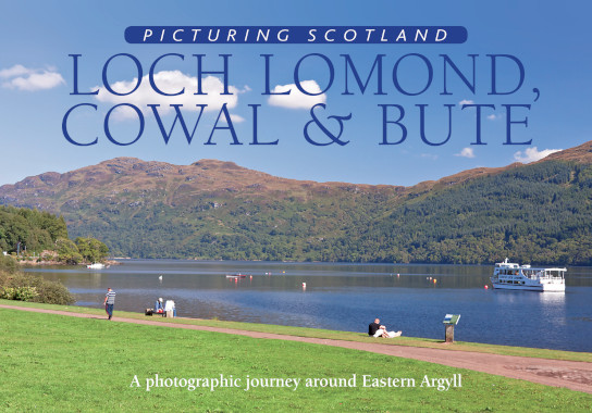 Jacket of Picturing Scotland: Loch Lomond, Cowal & Bute
