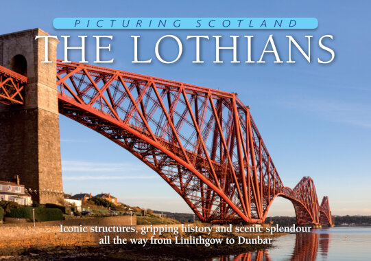 Jacket of Picturing Scotland: The Lothians (same book with additional Forth Bridges Jacket)