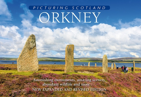 Jacket of Picturing Scotland: Orkney (2nd edition, Expanded and Revised)
