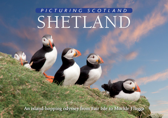 Jacket of Picturing Scotland: Shetland